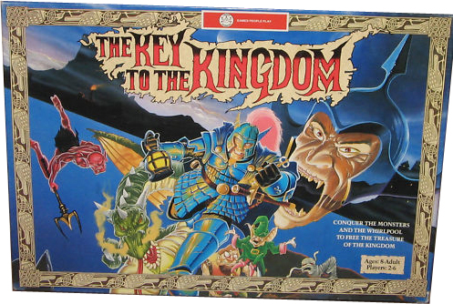 Key to the Kingdom Replacement Box w/ Inserts Board Game ...